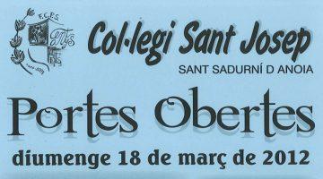 Portes Obertes 2012