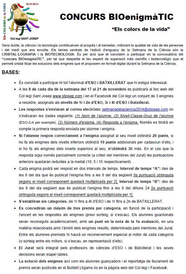 CONCURS BIOenigmàTIC-bases
