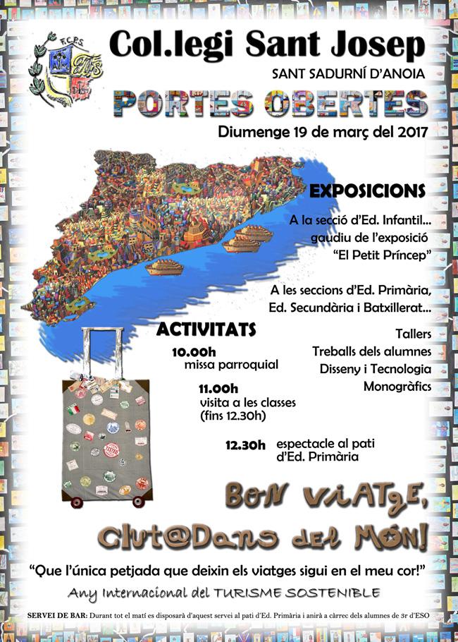 wInvitació Portes Obertes 2017