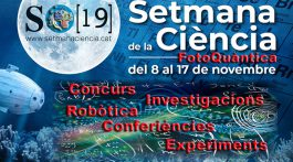 wCartell Setmana Ciència Sant Josep 2019