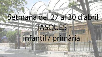 wSant Josep - Confinament 27-30 abril