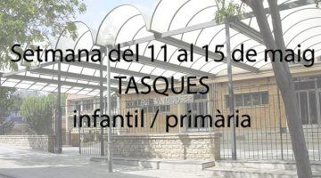 wSant Josep - Confinament 11-15 maig